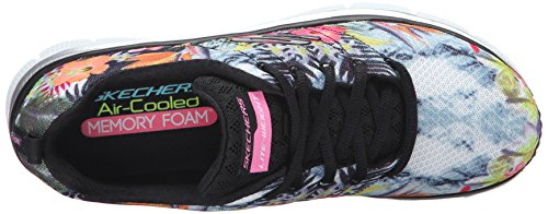 Fit Fashion Statement Black Donna Sneaker Piece Moda Multi Skechers alla 5UqndWqc