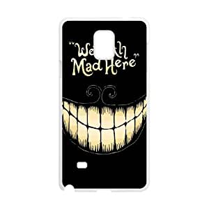 Alice in Wonderland Samsung Galaxy Note 4 Cell Phone Case White as a gift B2424306