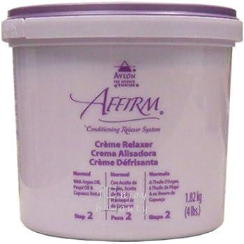 Avlon Affirm Creme Relaxer 4 Lbs Normal Formula