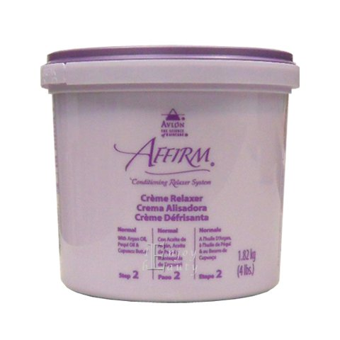 Conditioning Creme Relaxer System - Avlon Affirm Creme Relaxer 4 Lbs Normal Formula