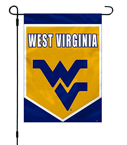 "Fremont Die NCAA West Virginia Mountaineers Garden Flag, 12"" x 16"""