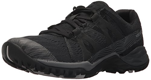 Merrell Women's Siren Hex Q2 E-Mesh Hiking Boot, Super Black, 9 Medium US ()