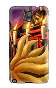LeeJUngHyun Case Cover Protector Specially Made For Galaxy Note 3 Touhou Animal Ears Arinu Blondeblush Fire Foxgirl Mask Multiple Tails Shorttail Touhou Yakumo Ran