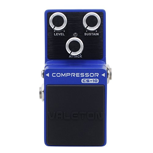 Valeton Loft CS-10 Compressor Guitar Effects Pedal by Valeton