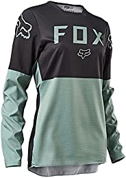 Women's Motorcycle Jersey, Cross-Country Mountain Bike Breathable Cycling Jersey UPF