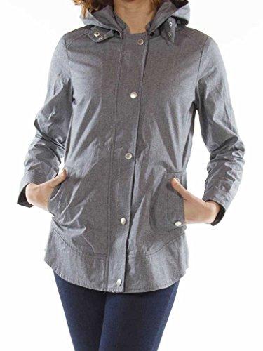 Femme Couleur Imperméable Unie Parka 685 Manche Pour Bleu Tissu 482 Carrera Taille Normale Longue Jeans wqBxIXS1