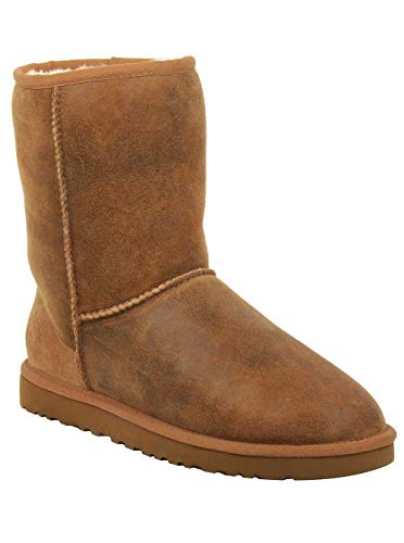 - UGG Australia Men's Classic Short Bomber Boot, Bomber Jacket Chestnut, 10