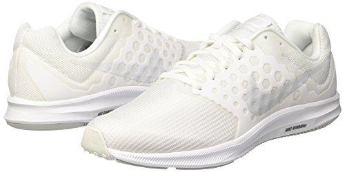 Homme Platinum blanc Nike De 7 Chaussures Blanc Pure Course Downshifter Pour Yqg8v1q