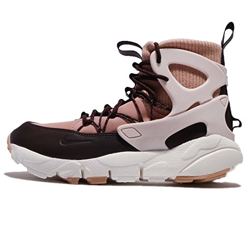Nike Women's WMNS Air Footscape Mid, Particle Pink/Silt Red Particle Pink/Silt Red