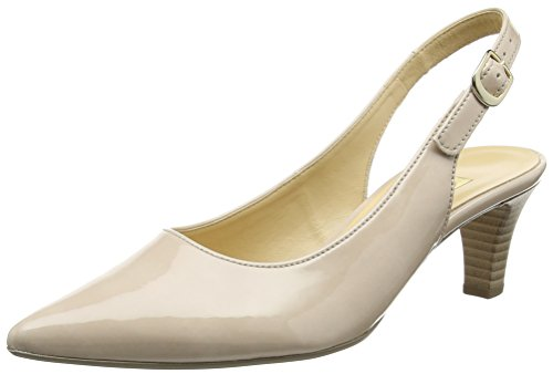 Gabor Shoes 41.550 Damen Slingback Pumps ,Grau (72 sand) ,40 EU
