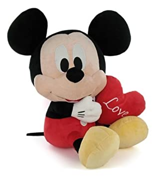 Peluche Baby Disney Mickey Mouse Clubhouse Mickey Amor 17 cm