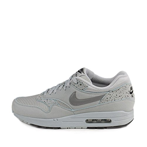 Silver Try Black Suede On Größe 10 Max Metallic ID Air 1 Nike XOHqBAO