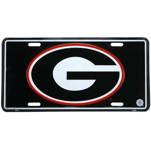 - University of Georgia License Plate Tin Sign 6 x 12in