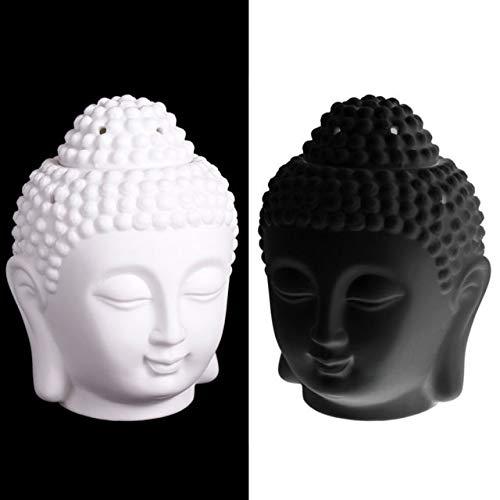 Inner Peace Gifts Thai Buddha Oil Burner (White) IPHT