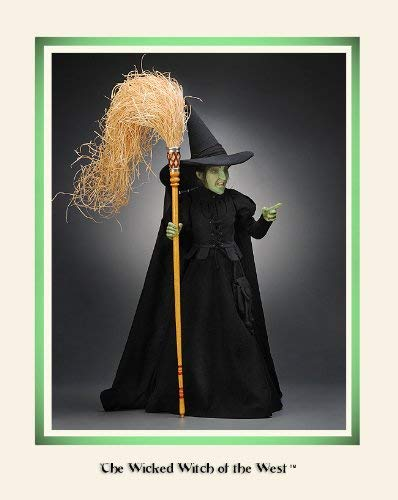 R John Wright Collectible Dolls - Wicked Witch of the West made in New England