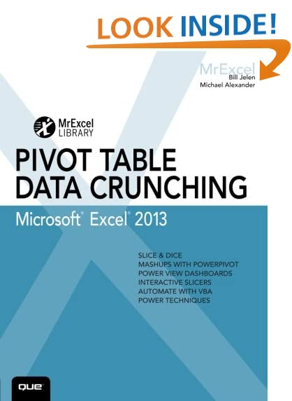 Excel Pivot Table: Amazon.com