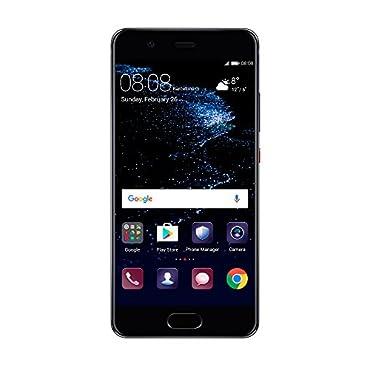 Huawei P10 64GB, 5.1, Dual Sim, GSM Unlocked Phone (VTR-L29, Graphite Black)