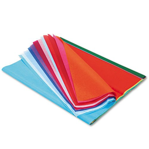- Pacon Spectra Art Tissue, 20 x 30, 20 Assorted Colors, 20 Sheets/Pack