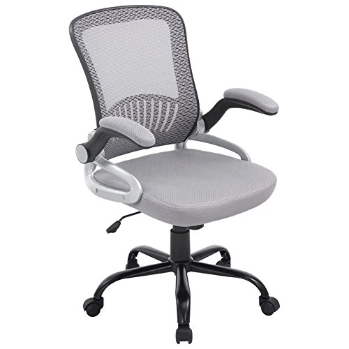 Poly and Bark Hargrove Office Chair in Grey by Poly and Bark