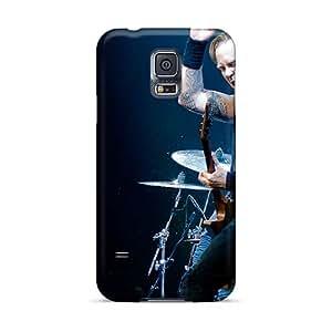 KellyLast Samsung Galaxy S5 Best Hard Phone Case Customized Attractive Metallica Pattern [vKx9385bjNc]