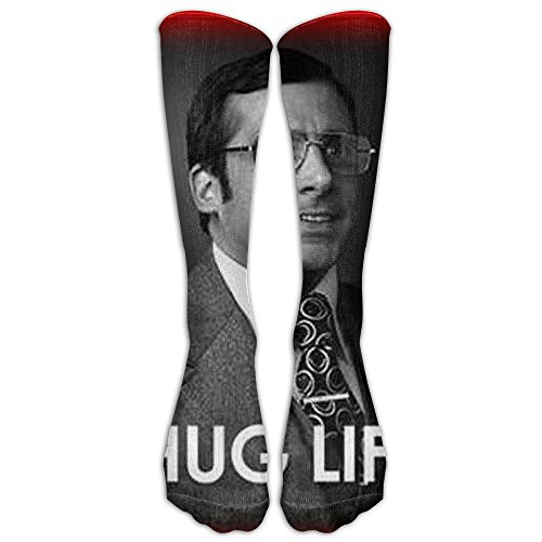 Thug Life Mask With Bandana (Ironic Newscaster Unisex Tube Sock Novelty Avenged Sevenfold Knee High Socks)