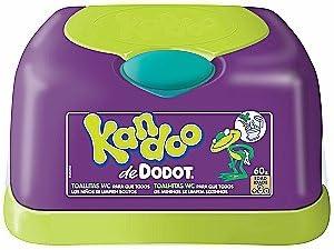 Kandoo Dodot Bo/îte de 60 lingettes