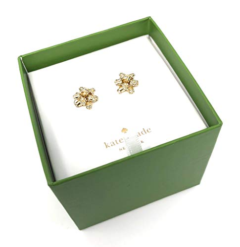 877d928803a63 Kate Spade Glitter Bourgeois Bow Gold Tone Earrings Gift Set