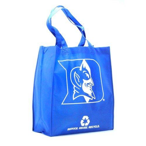 NCAA Duke Blue Devils Duke Blue Reusable Tote Bag