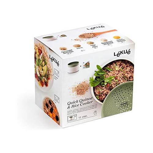chollos oferta descuentos barato Lékué Recipiente para cocinar Quinoa Arroces y Cereales 1 Litro