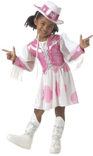 Child's Cowgirl Barbie Costume (Size:Toddler 2-4) (Cowgirl Costume For Toddler)