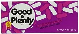 Hershey Good 'n Plenty, 6-Ounce Boxes (Pack of 12)