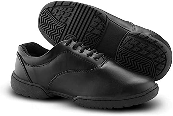 Mens Medium 7.5, Black DSI MTX Marching Band Shoes