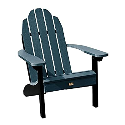 Elk Outdoors EO-CLAS1-SHL The Essential Adirondack Chair, Shale - Proudly and 100% Made in the USA from our own unique synthetic wood in an environmentally-conscious facility Water and weather resistant 500-pound weight capacity - patio-furniture, patio-chairs, patio - 41H9AXxP44L. SS400  -