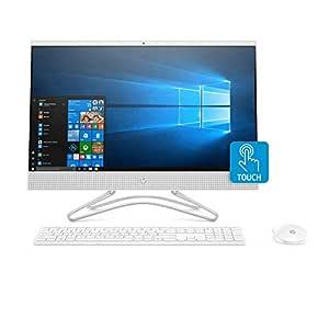 HP All-in-One 24-f0002ne Desktop, Intel Core i7-8700T, 24 Inch, 1TB, 8GB RAM, NVIDIA GeForce MX110 (2 GB), Win 10, Eng-Ara KB, Snow White