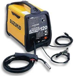 100Vで薄板ガス溶接可能 半自動溶接機 アーキュリーSAY-120 ワイヤ1本付 B0034YMY3K