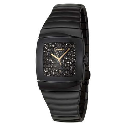Rado Sintra R13724182 31X28mm Ceramic Case Black Ceramic Synthetic Sapphire Men's Watch