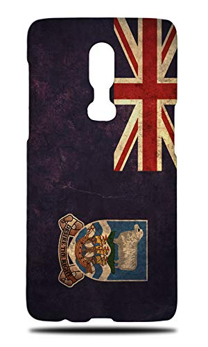 Falkland Islands Country Flag Hard Phone Case Cover for OnePlus ()