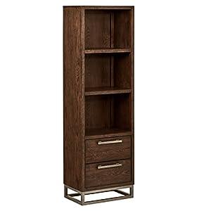 """Amazon Brand – Stone & Beam Glenwood Bookcase, 72""""H, Oak"""