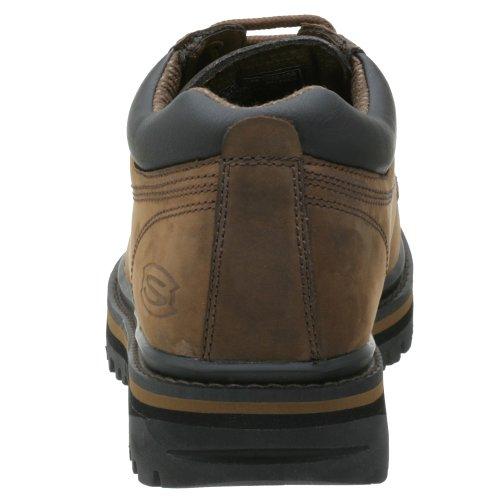 Skechers Men's Mariner Low Boot,Dark Brown,8.5 M US