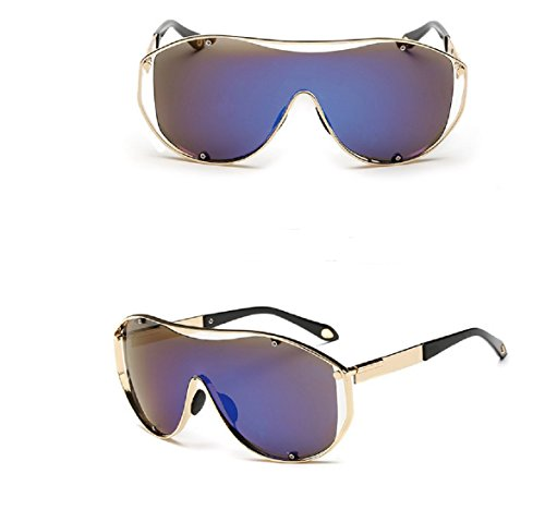 Yelovemei Newest Colorful Metal Sunglasses ,Siamesed Sport Cool And Fashion Sunglasses UV400 - Sunglasses Spitfire Design