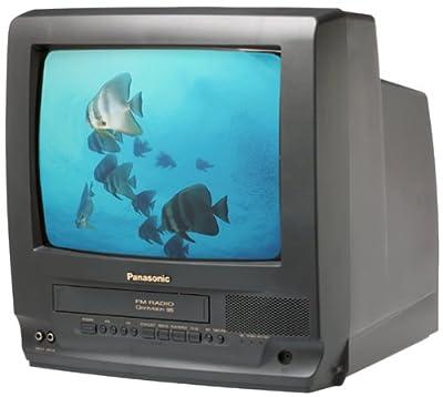 """Panasonic PV-C1320 13"""" TV/VCR Combo (Black)"""