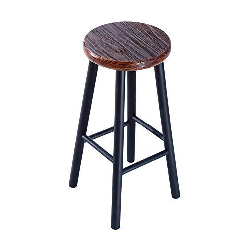 Cool Amazon Com Bar Stool Wooden Retro Industrial Chic Heavy Ibusinesslaw Wood Chair Design Ideas Ibusinesslaworg