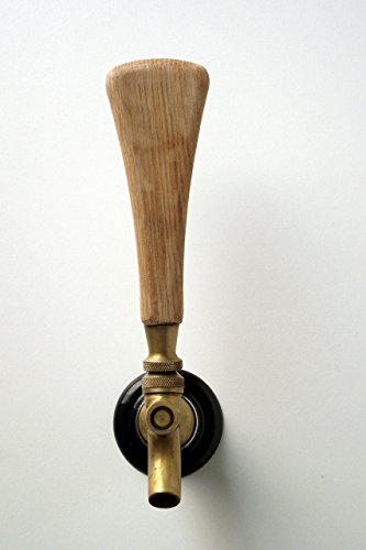 Tap handle solid oak wood beer tap handle 5'' inch. Works on all bar, brewery, home beer taps including kegerator. by Oakville Shop Woodworking (Image #2)