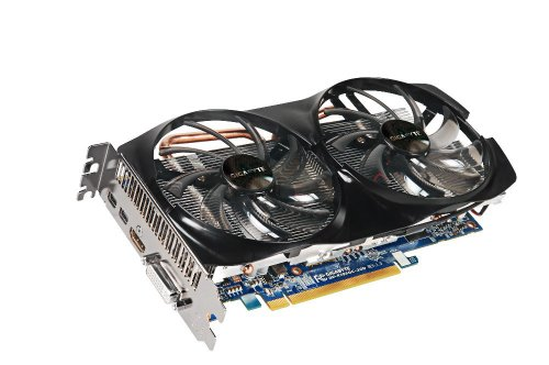 Gigabyte AMD Radeon HD 7850 2 GB GDDR5 DVI-I/HDMI/2x Mini-Displayport PCI-Express 3.0 Graphic Card GV-R785OC-2GD