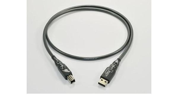 Moon Audio Silver Dragon v3 1,5 m USB de repuesto de actualización de audio USB cable A tipo B: Amazon.es: Industria, empresas y ciencia