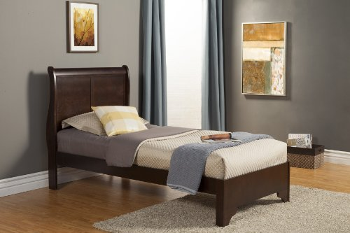 Twin Low Footboard Sleigh Bed