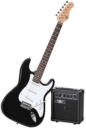 Legend pacs100bk Pack de Guitarra Eléctrica Tipo Strato negro: Amazon.es: Instrumentos musicales
