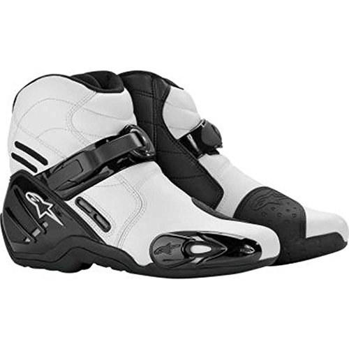 Alpinestars S-MX 2 Vented Boots , Distinct Name: White, Gender: Mens/Unisex, Size: 5, Primary Color: White 2224182038