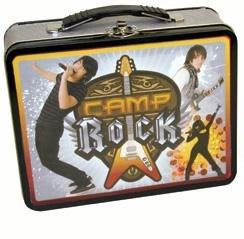 Camp Rock Black Trim Large Carry All Lunch Box