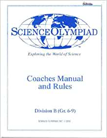 science olympiad division b rules manual 2017 pdf